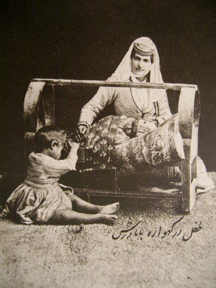 Berceau et sa poupée