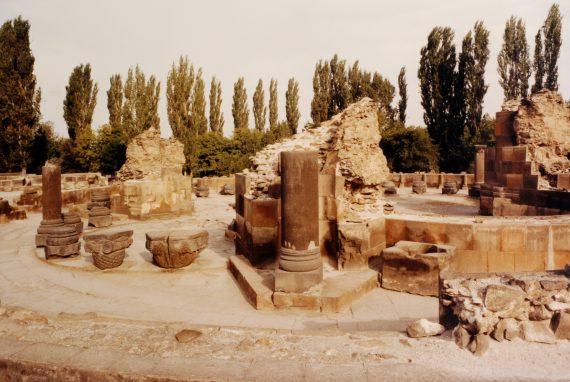 Ruines de Zvartnotz