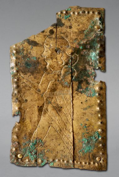 Fragment de plaque votive